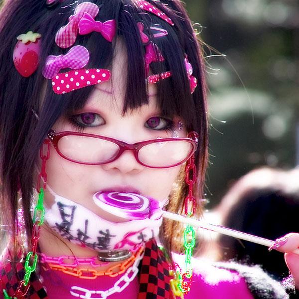 Японский молодежный стиль Decora
