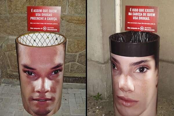 Спорная социальная реклама против наркотиков, подготовленная Publicis