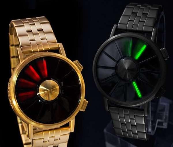 USB-часы Kisai blade watch - один из лучших гаджетов-новогодних подарков для мужчин