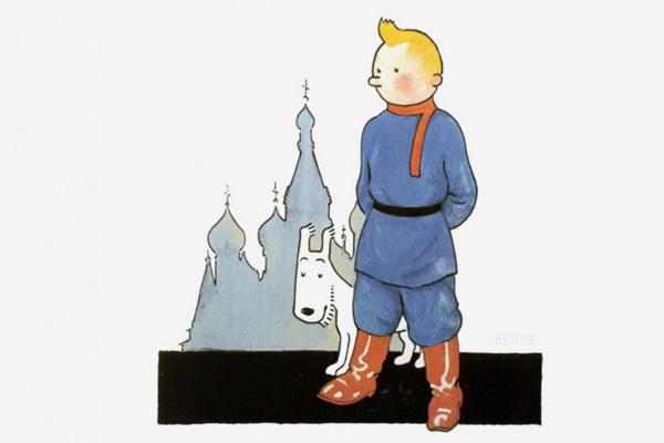Комикс про Россию от Эрже