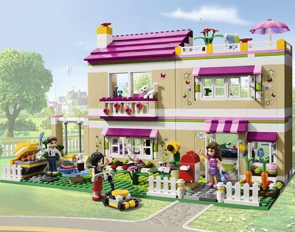 Lego Friends – Olivia's House – одна из лучших игрушек-новогодних подарков для девочек от 6 лет