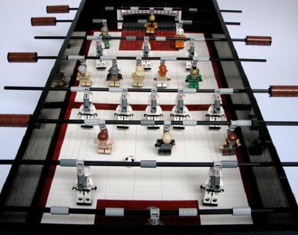 Star Wars Foosball Table - Креативная версия настольного футбола от Lego