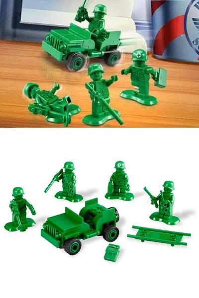 Army Men on Patrol – новая версия игрушечных солдатиков от LEGO