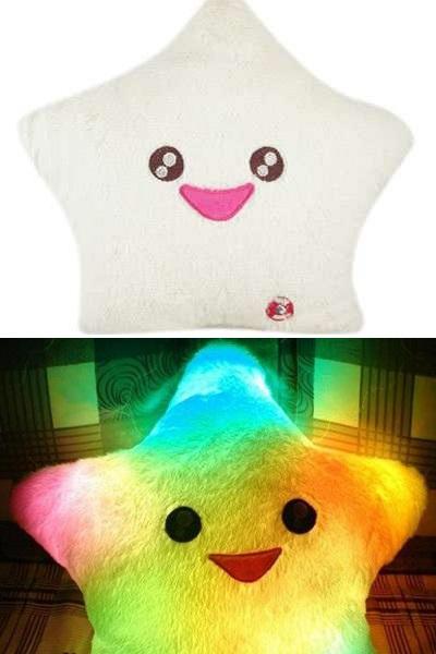 Light Up Star Pillow – креативный светильник для детских комнат