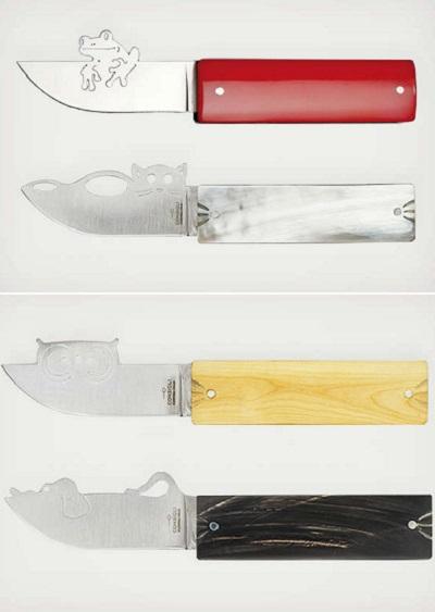 Столовые ножи-зверюшки Happy Blades от Consigli