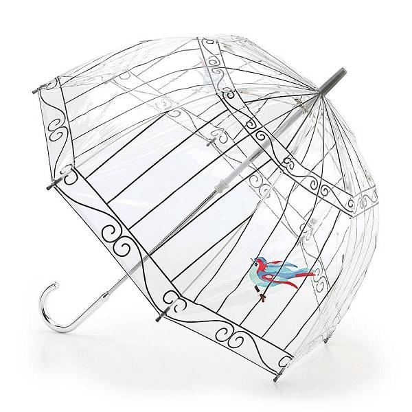 Birdcage Umbrella - яркий и изящный дизайнерский зонт от Lulu Guinness