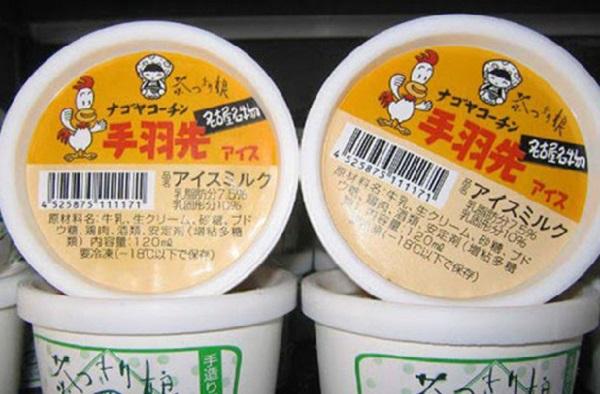 Необычное японское мороженое со вкусом мяса