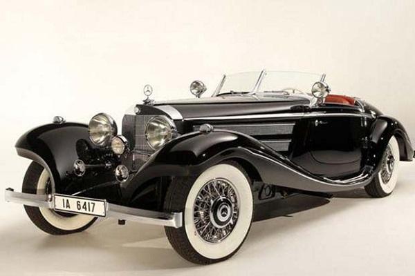 Mercedes-Benz 540K Von Krieger Special Roadster - бывший автомобиль прусских монархов и один из самых дорогих в мире