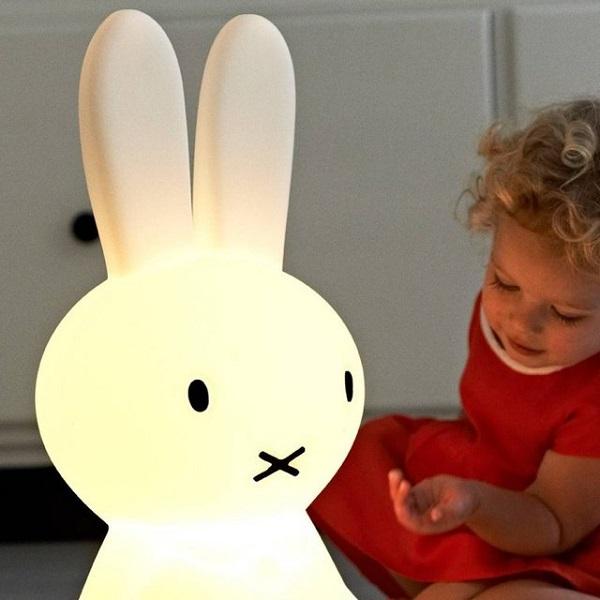 Miffy rabbit lamp – креативный светильник для детских комнат