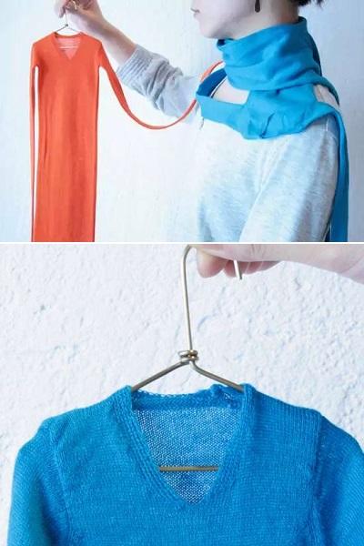 Креативные шарфы от Itaru Yonenaga