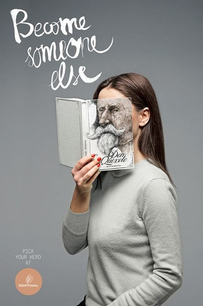 Креативная реклама чтения от Love Agency