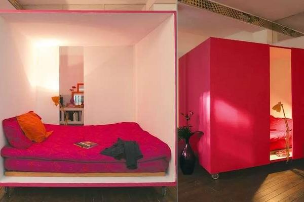 Кубическая передвижная спальня Mobile Bedcube