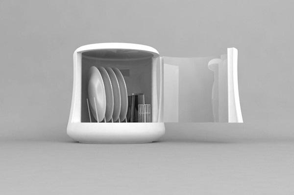 Компактная и экологичная посудомоечная машина Mono