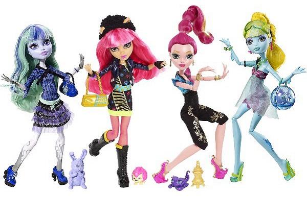 Monster High toys – лучшие игрушки-новогодние подарки для девочек-поклонниц Monster High