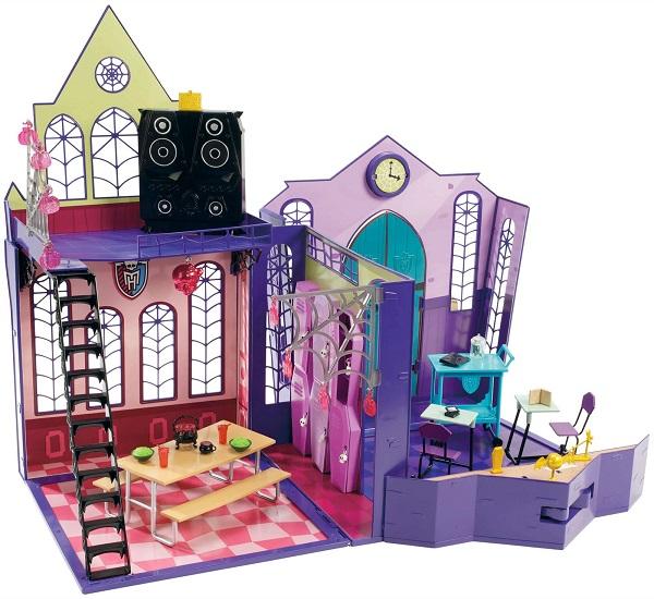 Кукольный домик в стиле Monster High