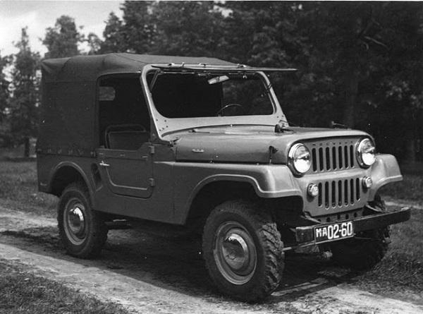 'Тяжеловес' из серии 415/416 - редкий автомобиль марки 'Москвич' выпуска 1950-1960 гг.