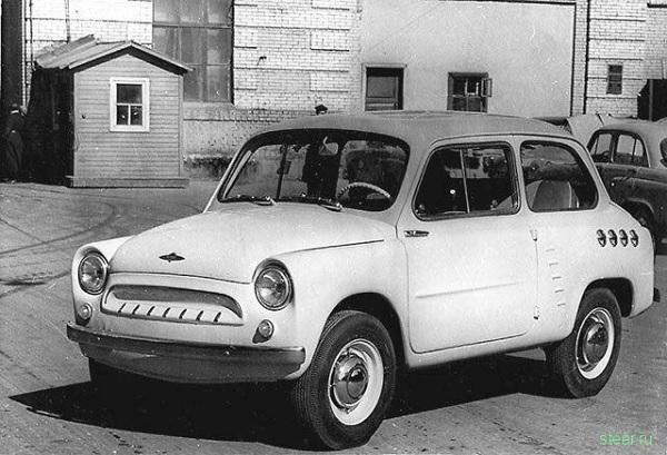 """'Москвич-444', послуживший прототипом для первого""""Запорожца"""""""