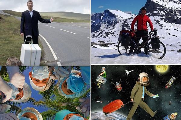 Идеи для 'неформатных' путешествий из необычных путеводителей