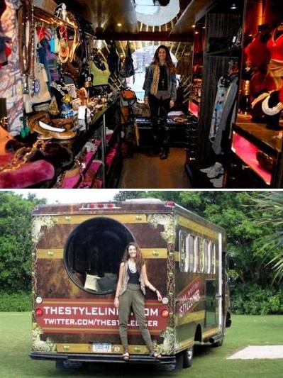 StyleLiner – путешествующий магазин редкой одежды