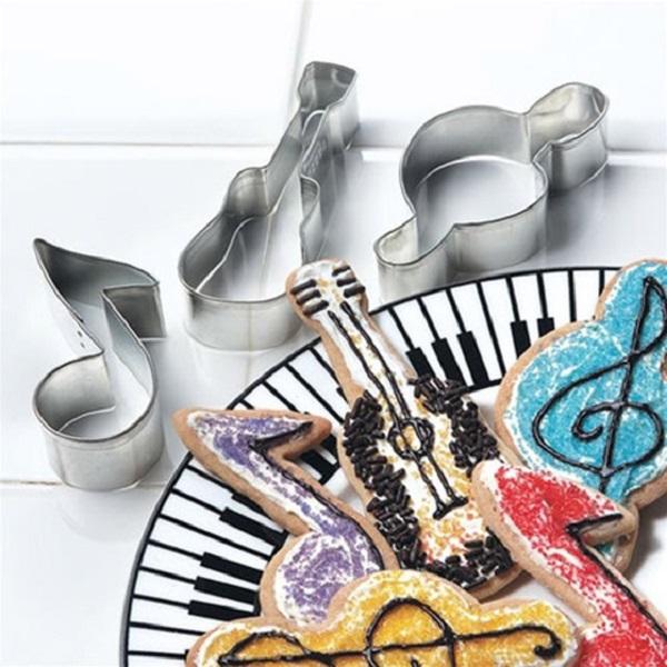 Формы для выпечки Music Motif Cookie Cutters