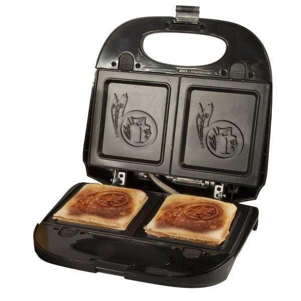 Кухонный девайс из серии NHL grill – креативный подарок для фанатов хоккея