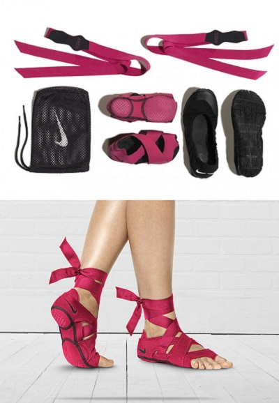 Nike Studio Wrap Kicks - необычные носки для занятий спортом и поднятия настроения