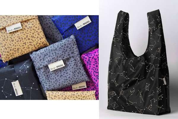Стильные эко-сумки от BAGGU и No.6