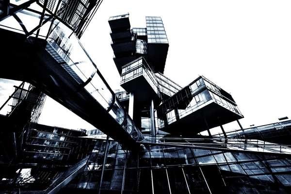 Футуристичное здание немецкого банка Nord LB