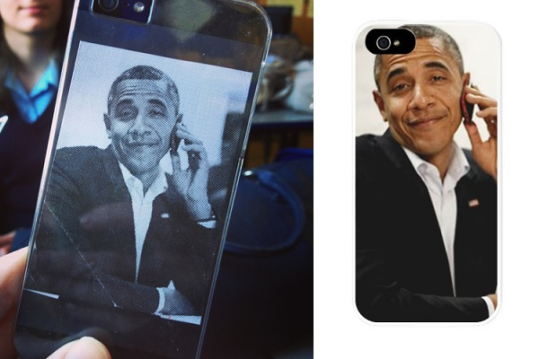 Obama iPhone case от Mike Cook