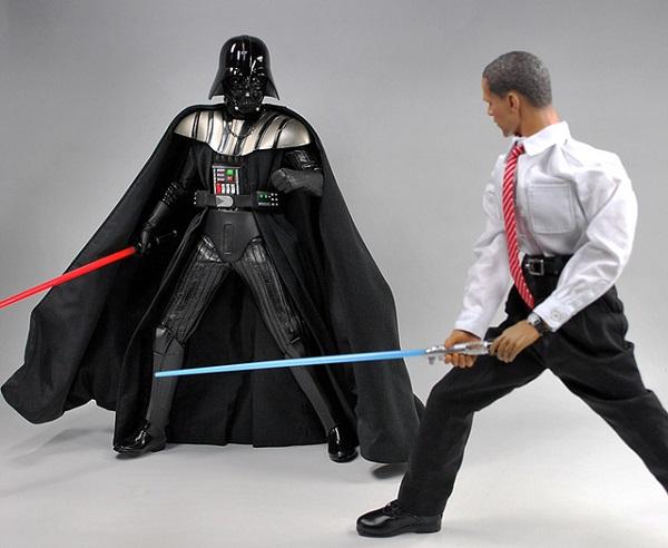 Игрушечный креатив в честь Барака Обамы от DID Corporation