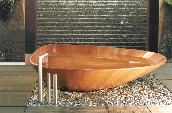 Ванна-ракушка от Bagno Sasso AG