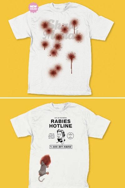 Поднимающие настроение футболки от Skate Mental для любителей черного юмора