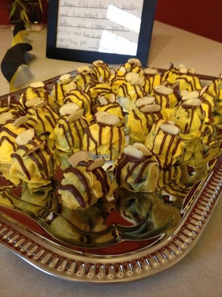 Пирожные Oreo balls в стиле 'Билайн' - кулинарная импровизация от Jenna Lynette