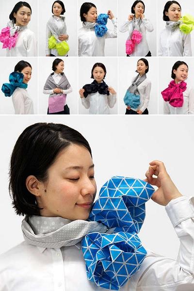Origami Scarf - креативный шарф от Monomatopee