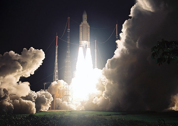Успешный вопреки нестандартному направлению запуск ракеты-носителя с космодрома Palmachim