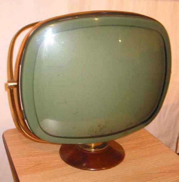 'Дисплей' ретро-телевизора Philco Tandem Predicta образца 1958 года