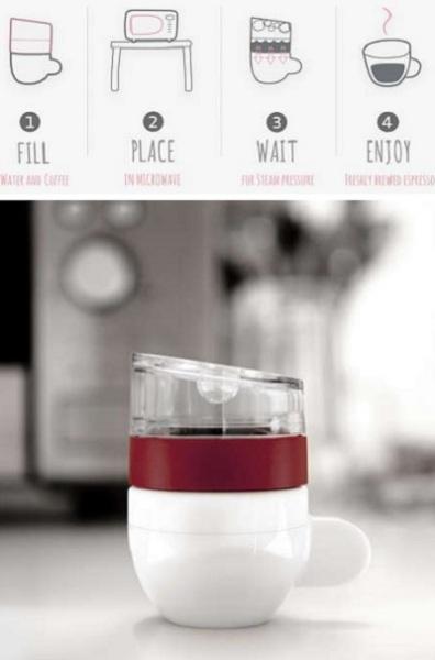 Компактная 'кофемашина' Piamo Espresso Maker