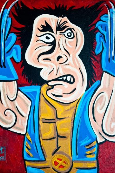 Wolverine в стиле Пикассо от Wonder Bros