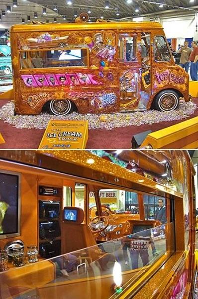 Pimped Ice Cream Truck - проект Mister Cartoon