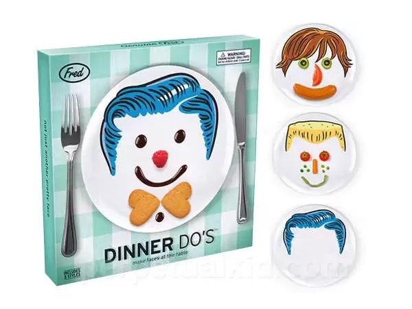 Детские тарелки Dinner Do's Plate Set для ежедневного творчества