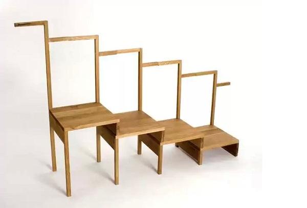 Power Chair - оригинальная лестничная мебель для всей семьи