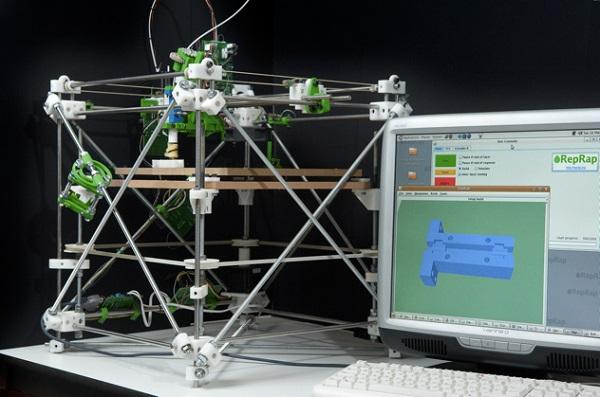 3D принтер, распечатанный на 3D принтере