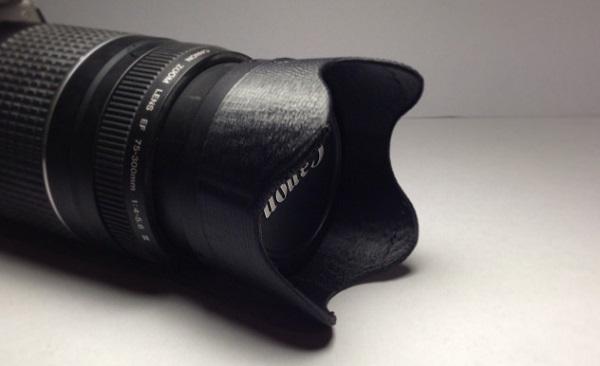 Фотокамера с линзами, распечатанными на 3D принтере