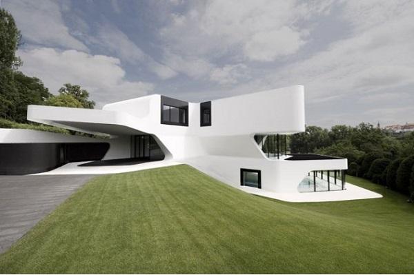 Концепт жилого дома,распечатанного на 3D принтере