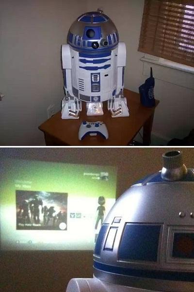 Игровая приставка R2-D2 Xbox 360 Projector
