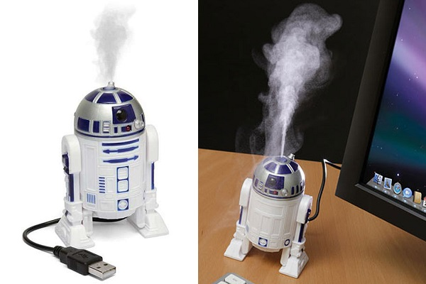 R2D2 USB Humidifier - устройство для увлажнения воздуха в рабочем помещении