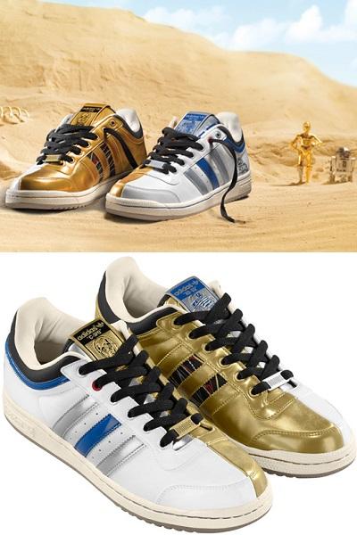 R2-D2 + C-3PO - кроссовки от Adidas Originals и Star Wars