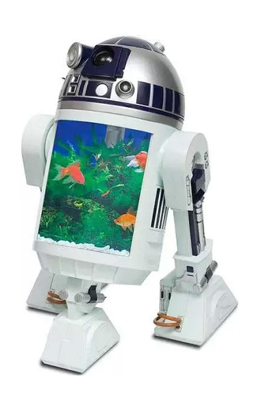 Аквариум Star Wars R2-D2 Fish Tank в зоомагазине PETCO