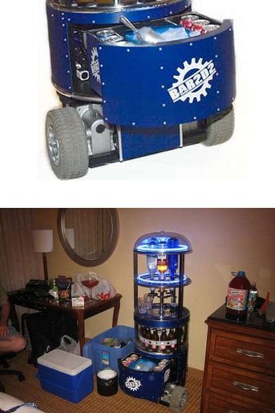 BaR2D2 - сделанный в домашних условиях радиоуправляемый бар от Jamie Price