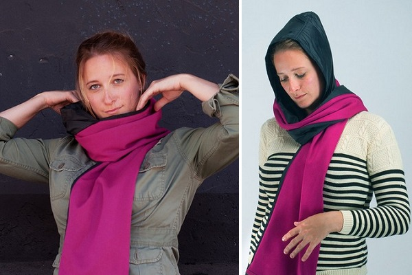 RainScarf - шарф-дождевик от Andre Dettler